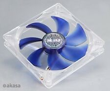 Akasa 139mm Silent Blue case Fan Adjustable Fittings