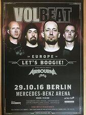 VOLBEAT  2016  BERLIN   -  orig.Concert Poster -- Konzert Plakat  A1 NEU