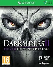 Darksiders Ii 2 deathinitive Edición Xbox One * Nuevo Sellado Pal *