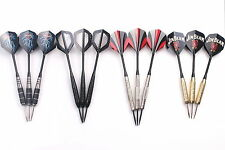 4 sets of Darts 22g Steel Tip Dart with Aluminium Shafts and Nice Dart Flights