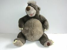 """Baloo Jungle Book Rare Brown Patch  Disney Store Exclusive 12"""" Soft Toy"""