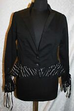 Tim Burtons The Nightmare Before Christmas XL Jacket Goth Steapunk Costume Women