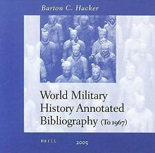 World Military History Annotated Bibliography: Network Version, 11 And More User