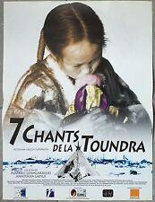 Affiche 7 CHANTS DE LA TOUNDRA Lapsui Lehmuskallio 40x60cm *