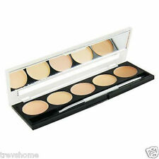 W7 Camouflage Kit Concealer Fair / Light / Medium Cream Palette Blend Face