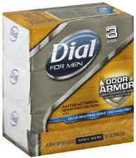 Dial For Men Antibacterial Soap Bars, Odor Armor 3 ea