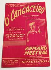 Partition vintage sheet music ARMAND MESTRAL : O' Cangaceiro * 50's