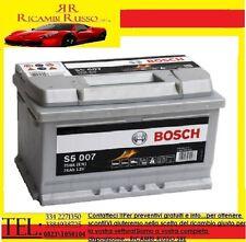 BATTERIA AUTO BOSCH SILVER S5 007 74Ah 750A 12v DX BASSA NUOVA ETICHETTA