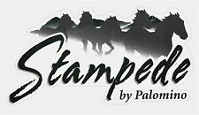 """STAMPEDE by Palomino  RV LOGO Graphic 47"""" X 25"""" Shipped Fast!"""