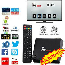 KII Pro Android 5.1 Smart TV Box Quad Core Amlogic S905 DVB-S2 DVB-T2 2/16GB US
