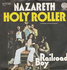 Nazareth - Holy Roller/Railroad Boy (Vinyl-Single 1975) Vertigo !!!