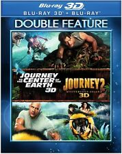 Journey To The Center Of The Earth / Journey 2 Blu-ray 3D