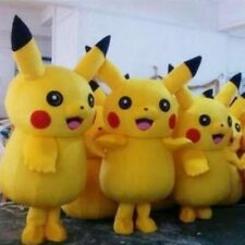 2016 HOT Pikachu Mascot Costume Party Cosplay Cute Fancy Dress Adult Pokemon Go