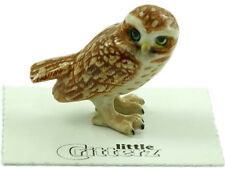 "LC849- Little Critterz  - ""Athene"" a Burrowing Owl (Buy any 5 get 6th free!)"