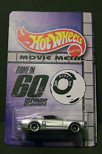 "Custom HotWheels ELEANOR and package of  ""Movie Metal""  from Gone in 60 Seconds"