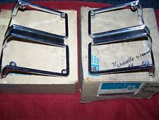 1971 CHEVELLE MALIBU WAGON EL CAMINO TURN LAMP LENS AND BEZELS NOS GM 3998273 74