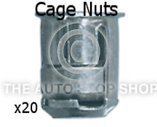 Cage Nut 6MM Drilling 10MM Thickness 1,5-5MM Peugeot 1007/106/207 etc 253pe 20PK