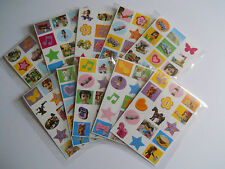 10 Packs of Lego Friends Mini Stickers - Mini Figure - Kids Party Bag Fillers