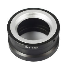 Lens Adapter M42 Screw Lens to SONY Ring NEX5 NEX6 NEX7 Alpha A3500