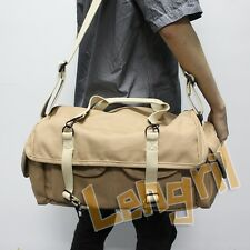 Dollice DR-655S Canvas Camera Bag Shoulder Bag Khaki Twelve compartments pockets