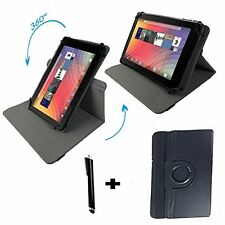 "9.7 inch Case Cover Book For Archos 97c Platinum Tablet - 360 9.7"" Black"