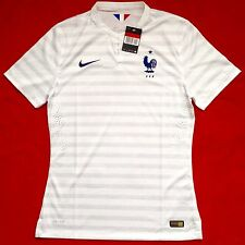 ULTRA RARE NIKE FFF MAILLOT EQUIPE FRANCE 2014/15 PRO STOCK PLAYER MATCH LARGE