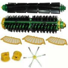SIDE BRUSH PER IROBOT ROOMBA BRISTLE AND FLEXIBLE + 3 FILTER SERIES 500 555 600