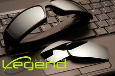 A25 Titanium Mirror POLARIZED Replacement Legend Lenses For Oakley GASCAN