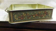 "Vintage Pyrex #222 Square Metal Caddy 8"" x 8"" Baking Dish Holder 160244"