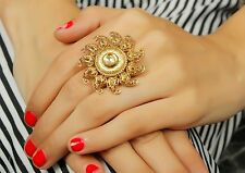 711 Traditional Indian Bridal Kundan Ring Women Party Ethnic Designer Jewellery