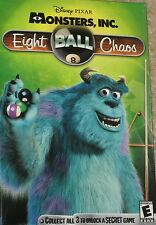 NEW Disney Pixar Monsters, Inc. Eight Ball Chaos MAC or PC Game Free Shipping !