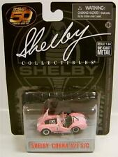 1965 '65 SHELBY COBRA 427 S/C PINK #1 DIECAST 50 YEARS COLLECTIBLES RARE
