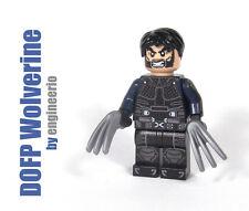 LEGO Custom - Wolverine - v2 Days of Future Past Marvel Super heroes mini figure