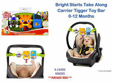 Bright Starts Take Along Carrier Tigger Toy Bar 0-12 Months ** BOXED **