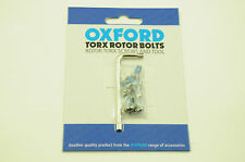 6x MOUNTAIN BIKE DISC BRAKE TORX ROTOR SCREWS WITH THREAD LOCK AND FITTING TOOL