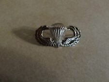 MILITARY INSIGNIA CREST BADGE US ARMY PARACHUTE JUMP WINGS AIRBORNE SHINY