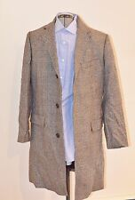 NWT Men's J.Crew Ludlow Top Coat Size 38R 38 Plaid Moon British Cloth