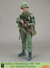 "ACE 1/6 Scale 12"" Battle of Hamburger Hill 1969 101st Airborne Division Figure"