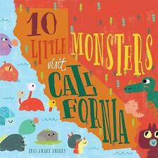 10 Little Monsters Visit California by Jess Smart Smiley (2016, Hardcover)