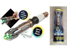 DOCTOR Dr WHO CACCIAVITE SONICO 11th 11. Dottore SUONI LED Sonic Screwdriver 12.