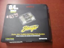 NEW STINGER PRO SPD5210 DUAL ANL FUSE HOLDER (2) 0/1 OR 4 GAUGE INPUT OUTPUT NR