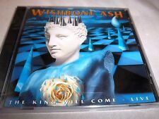 WISHBONE ASH-THE KING WILL COME 13 TRACKS-RECIEVER RRCD 276 UK NEW SEALED CD