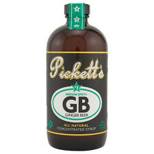 Pickett's #1 Ginger Beer All Natural Concentrated Syrup- 16 oz- Cocktail Flavor