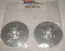 TRAXXAS X-MAXX 7076 GPM SILVER ALUMINUM FRONT WHEEL HEX WITH BRAKE DISK TMX006F