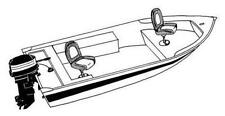 7oz STYLED TO FIT BOAT COVER LUND FURY 1600 TILLER 2011-2015