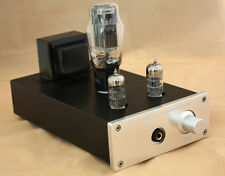 Little Bear P8 metal Silv valve tube Headphone Amplifier preamplifier preamp UK