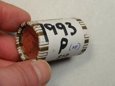 Bankwrapped Uncirculated Rolls, 1993-P Kennedy Half Dollars, Better Date