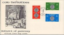 (85996) GB Guernsey FDC Coin High Values £2 £1 50p - 5 February 1980