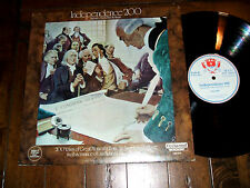 John Hancock Presents - Independence 200 LP w/ Insert & CEO Signed Letter EX+/EX