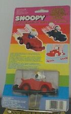 Vintage Peanuts Snoopy Red Bump-N-Go Car Very Hard To Find